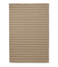 Indoor/Outdoor Basketweave Rug, Neutral Tweed