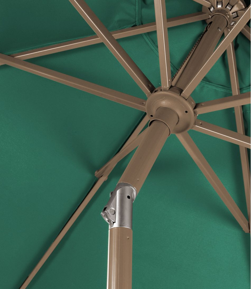Sunbrella Market Umbrella, Aluminum