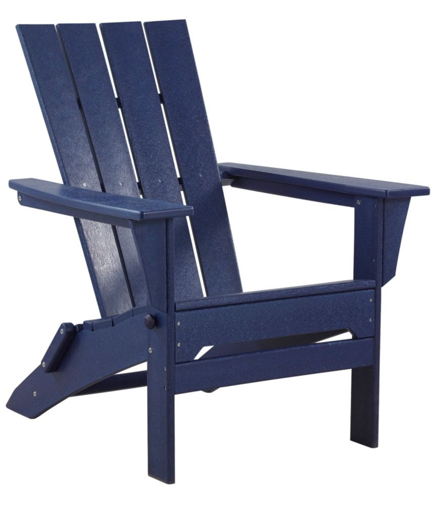 Charmant All Weather Adirondack Chair, Square Back