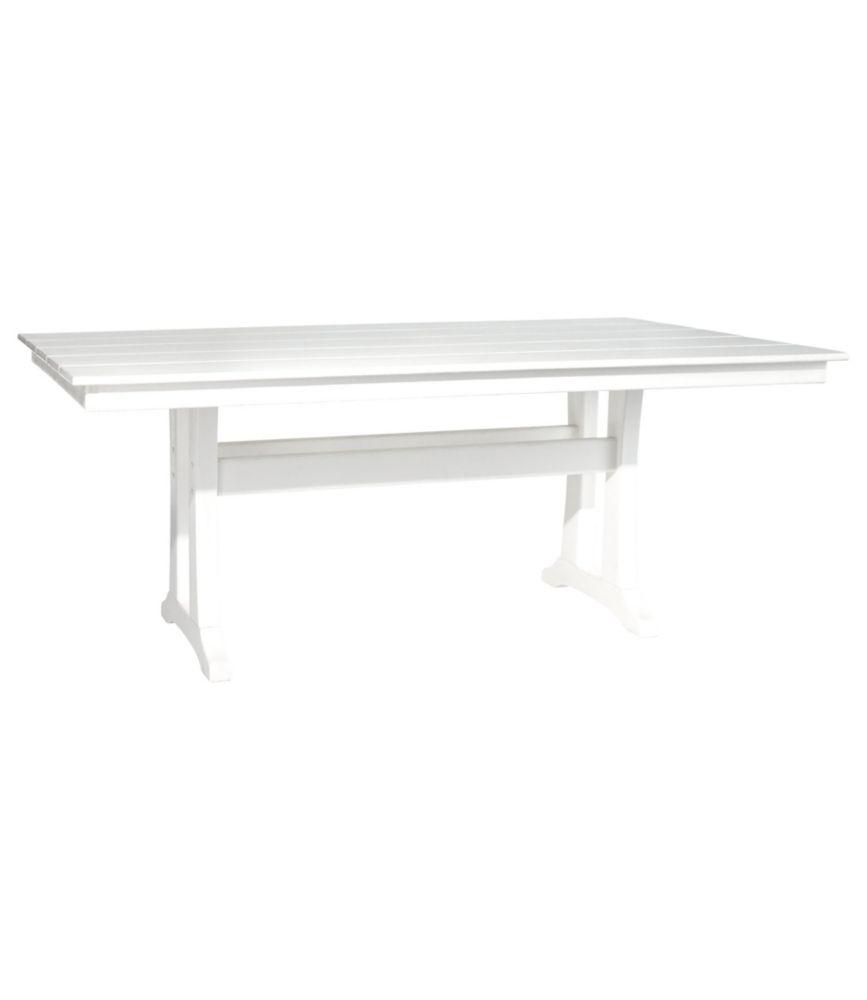 all weather farmhouse table large rh llbean com ll bean patio table L L  Bean Catalog Online 5e552a7a0f