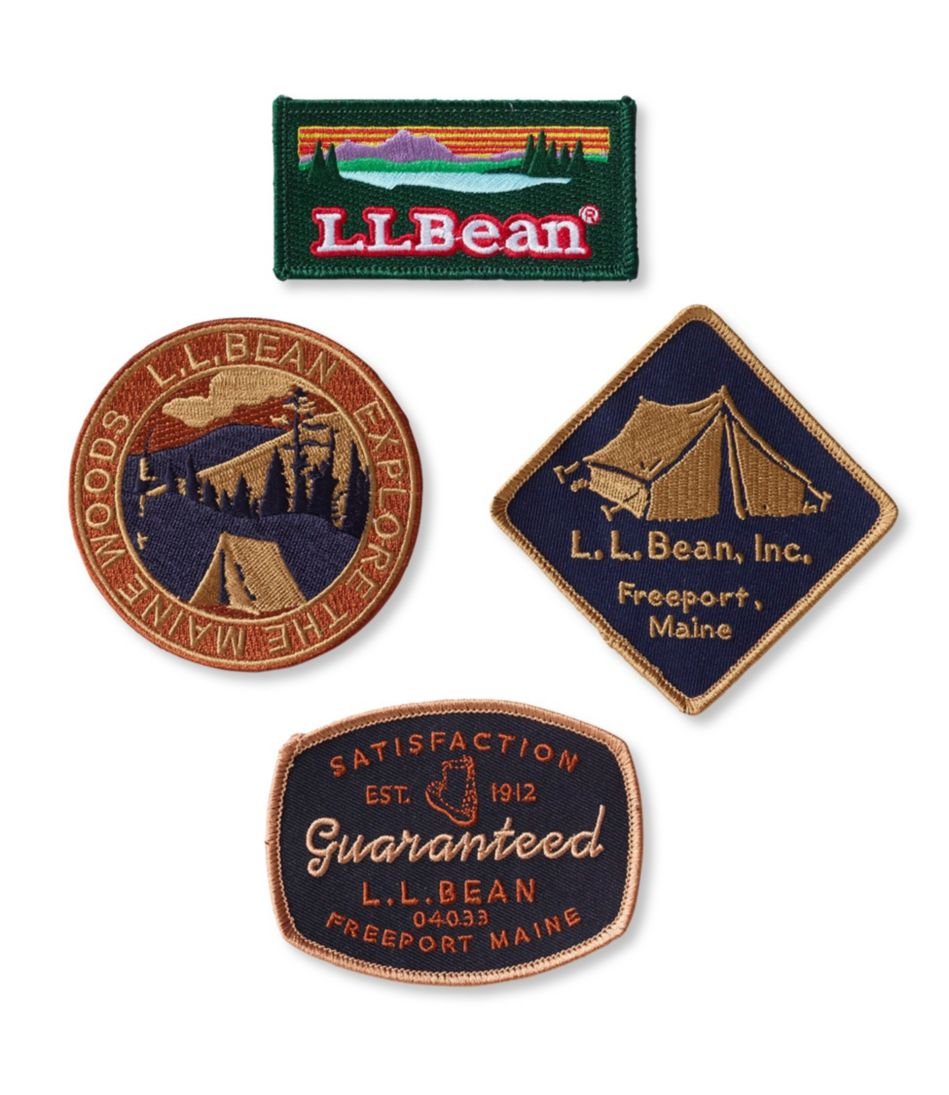 Bean Badges, Set of 4