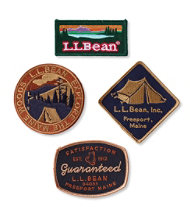 Bean Badges, Set of 4