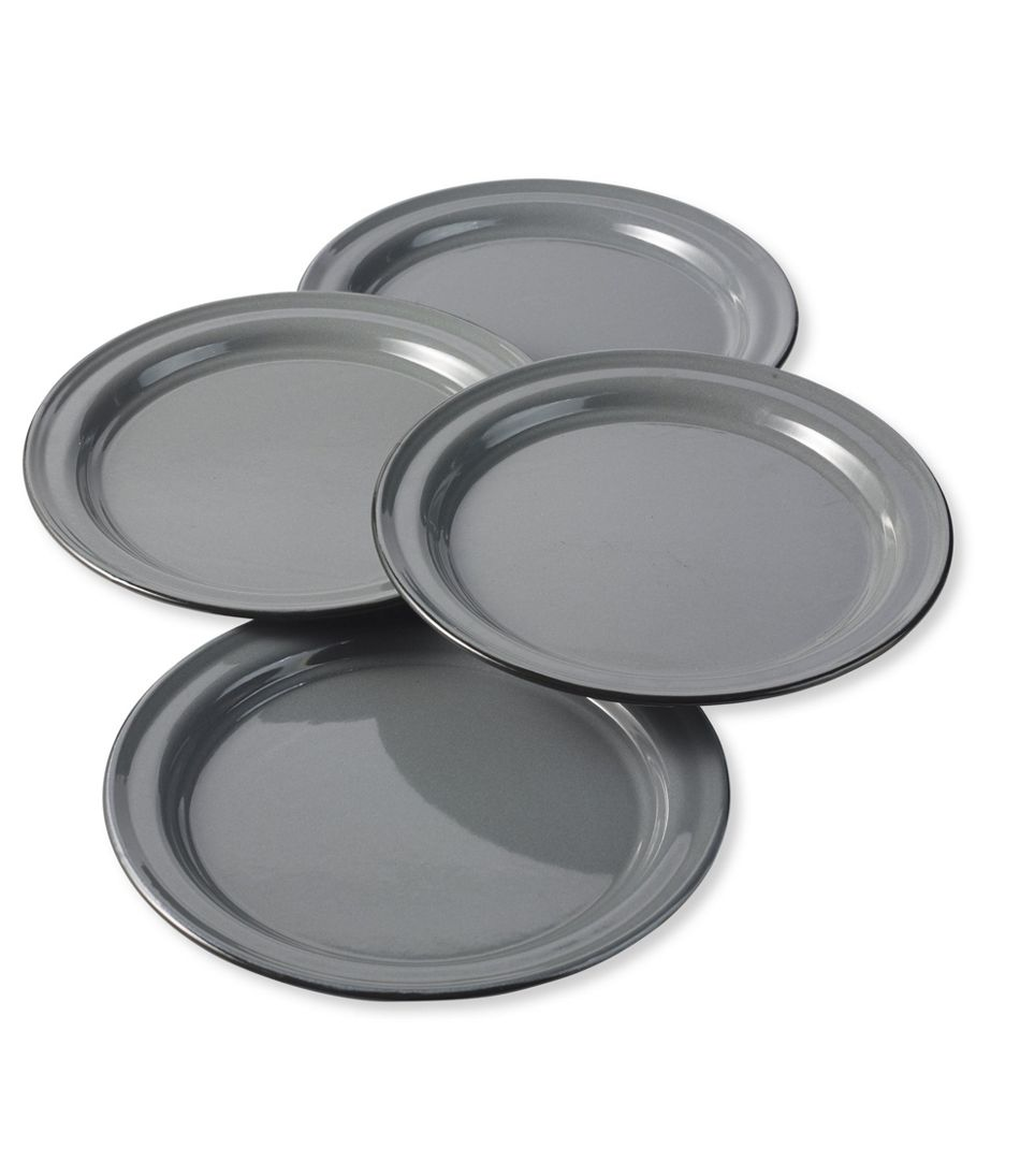 Everyday Enamelware Plates, Set of 4