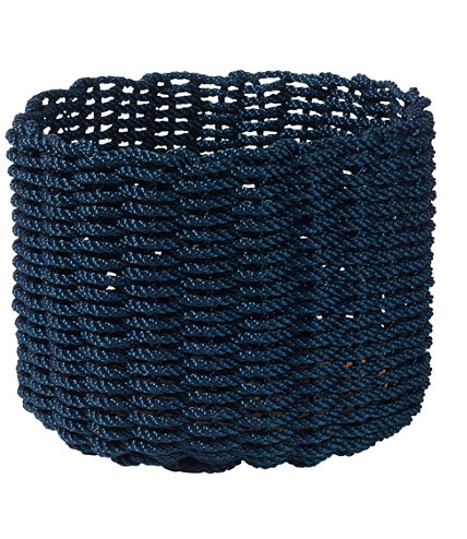 Nautical rope basket large for Large nautical rope