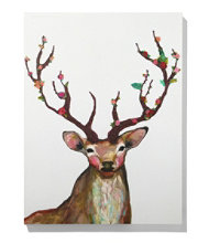 Canvas Wall Art, Rosy Buck