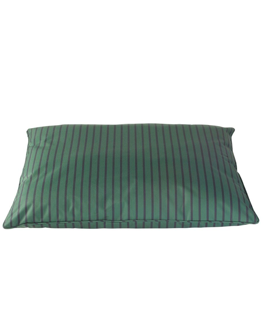 Pillow Dog Bed, Stripe