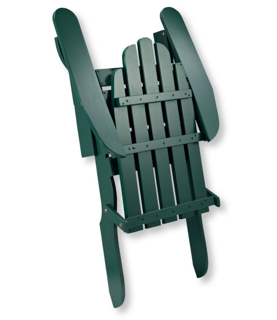 Folding Wooden Adirondack Chair