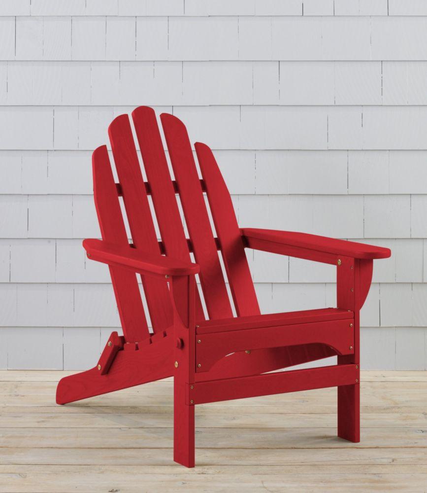 Folding Wooden Adirondack Chair