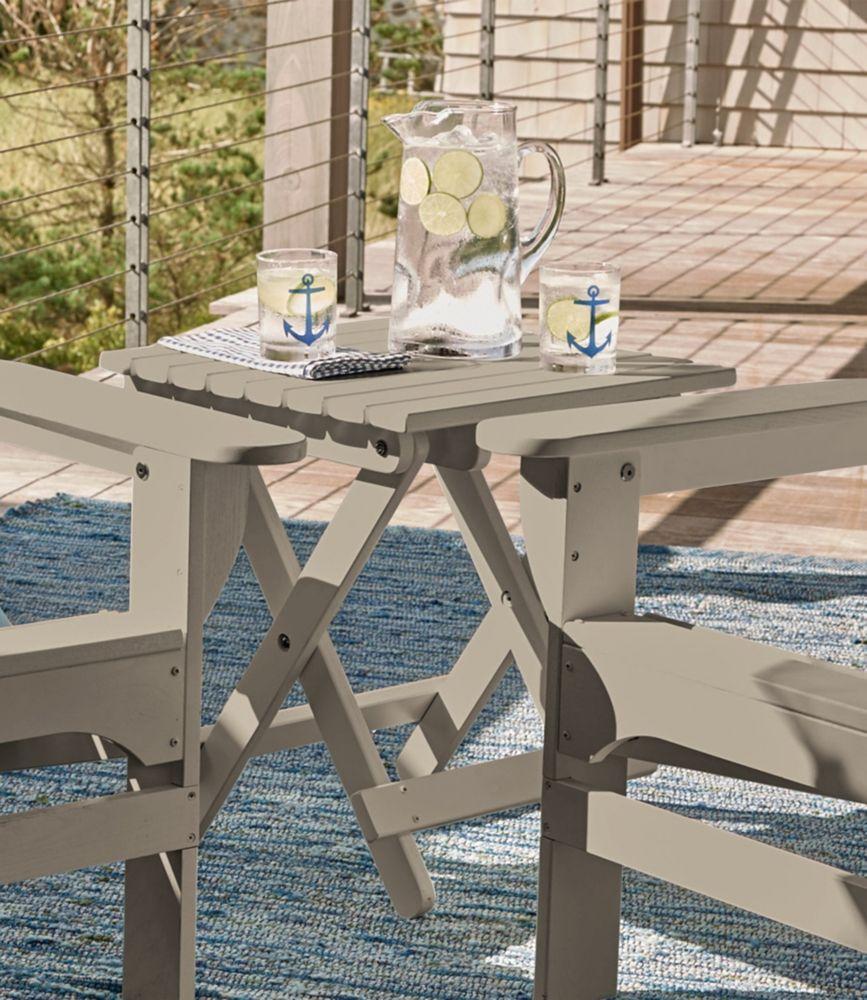 Merveilleux Adirondack Wooden Folding Side Table