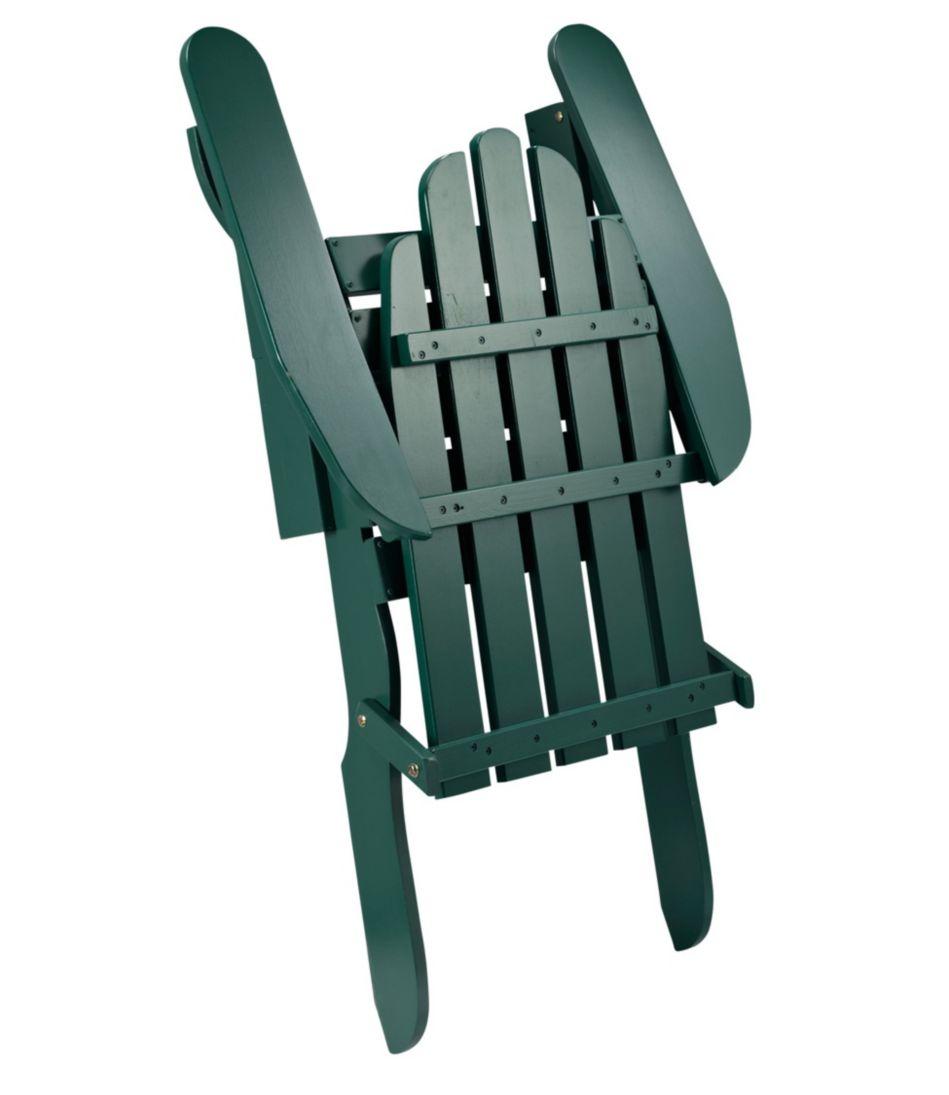 Reclining Wooden Adirondack Chair