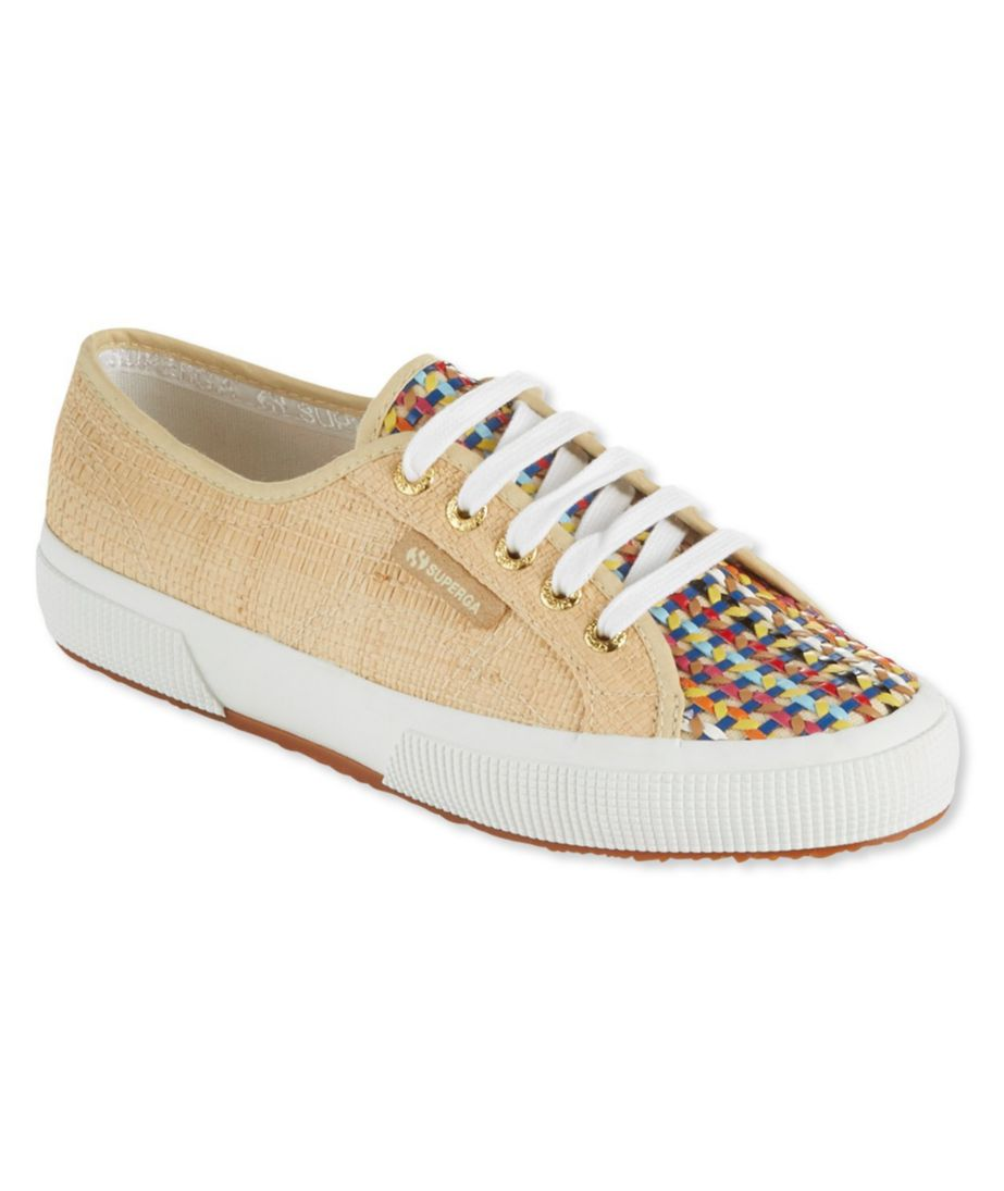 Women's Superga COTU 2750 Sneakers, Raffia Multi