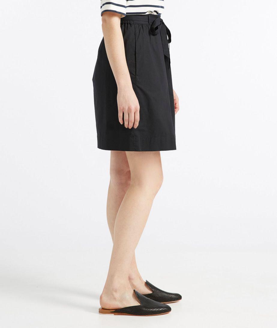 Signature Poplin Skirt