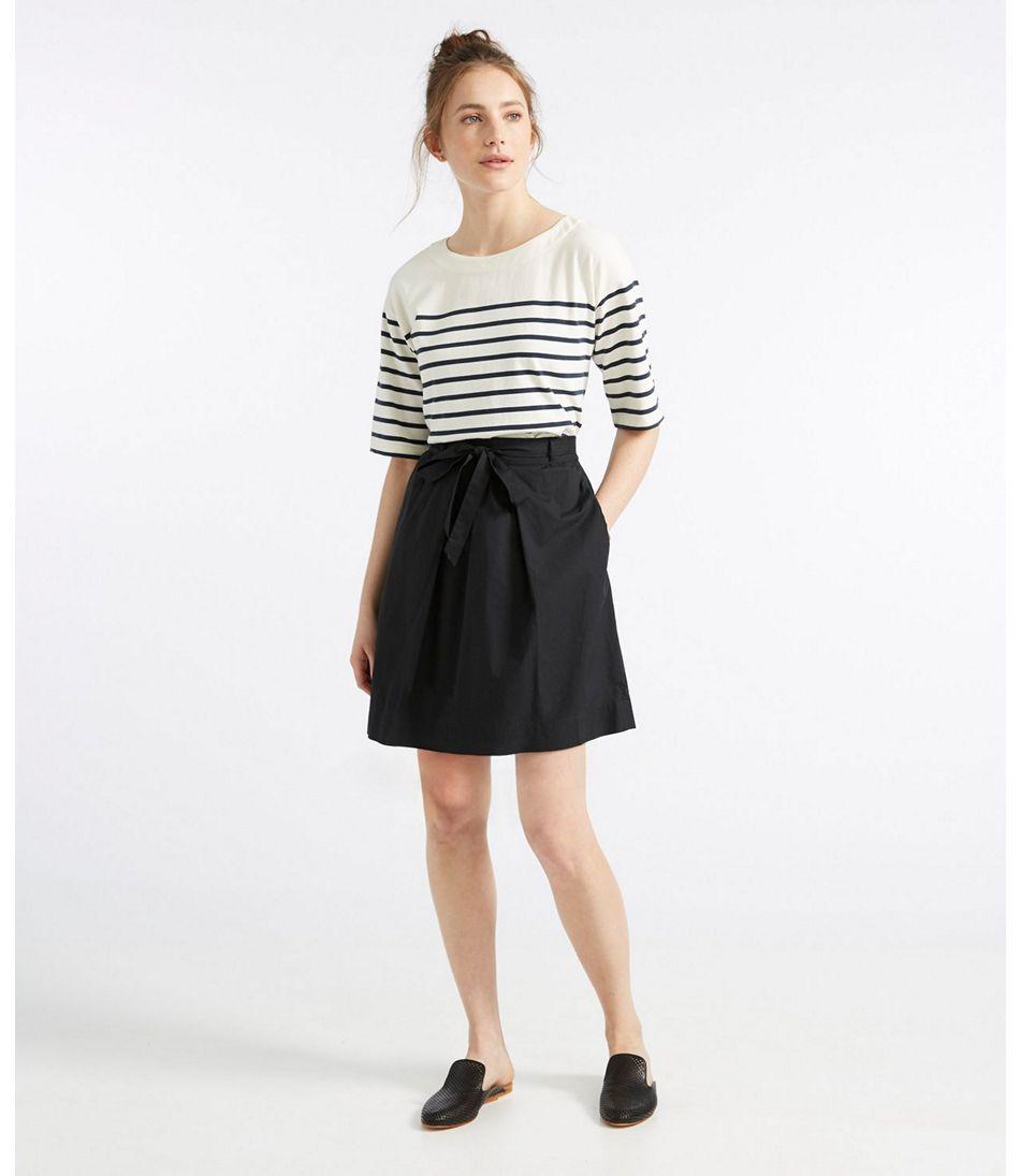 e1fdc1ea4b6 Signature Poplin Skirt