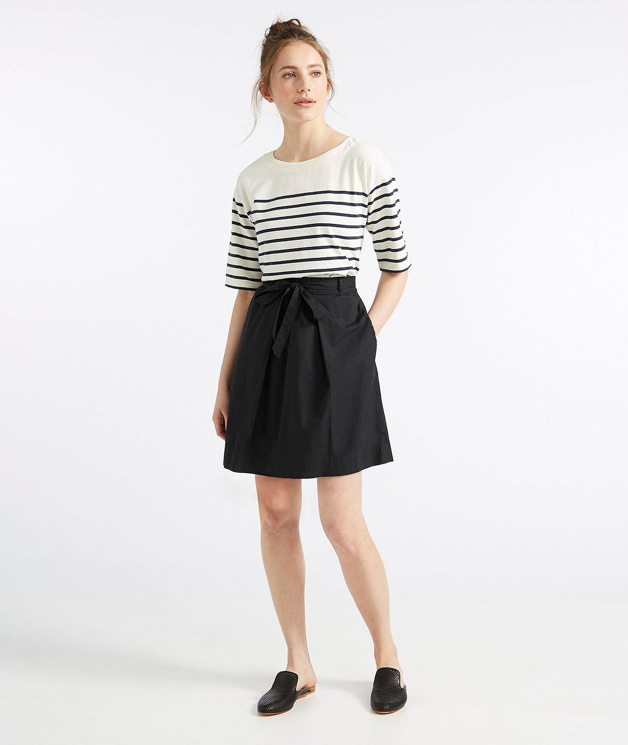 Signature Poplin Skirt by L.L.Bean