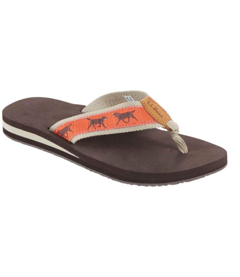 Classic Maine Isle Flip-Flops, Motif