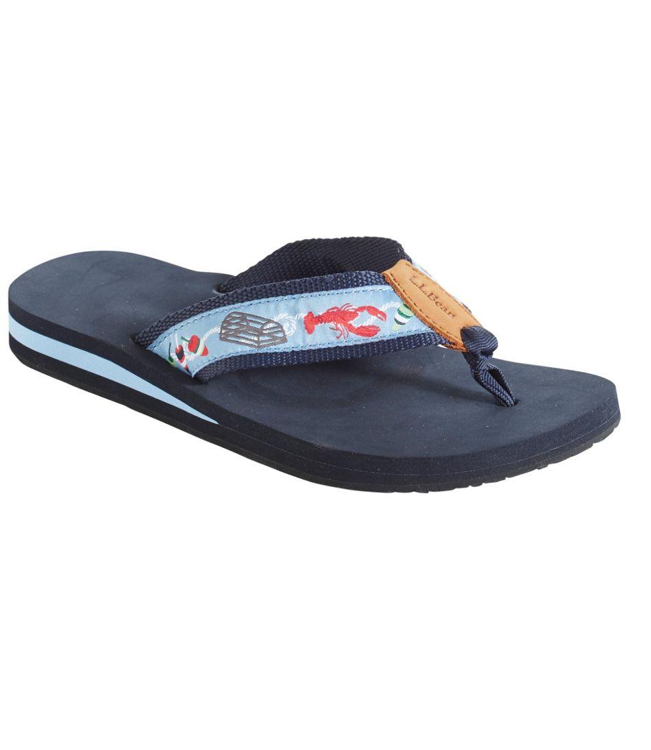 Original Maine Isle Flip-Flops, Motif