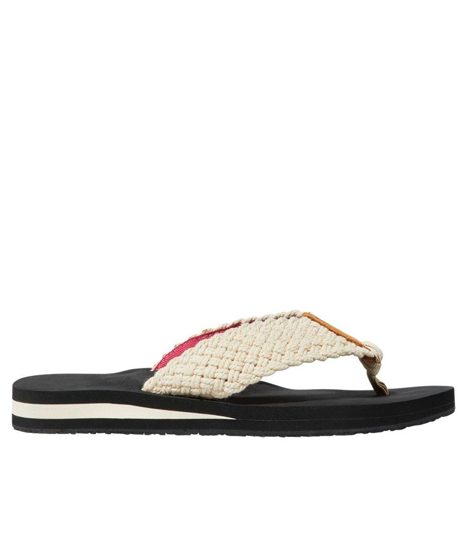 Women's Maine Isle Flip-Flops, Woven