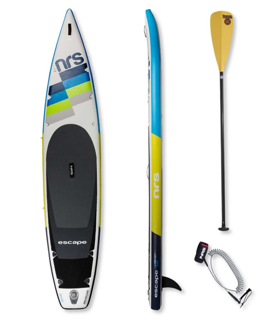 NRS Escape Inflatable Stand-Up Paddleboard Package, 12'6""