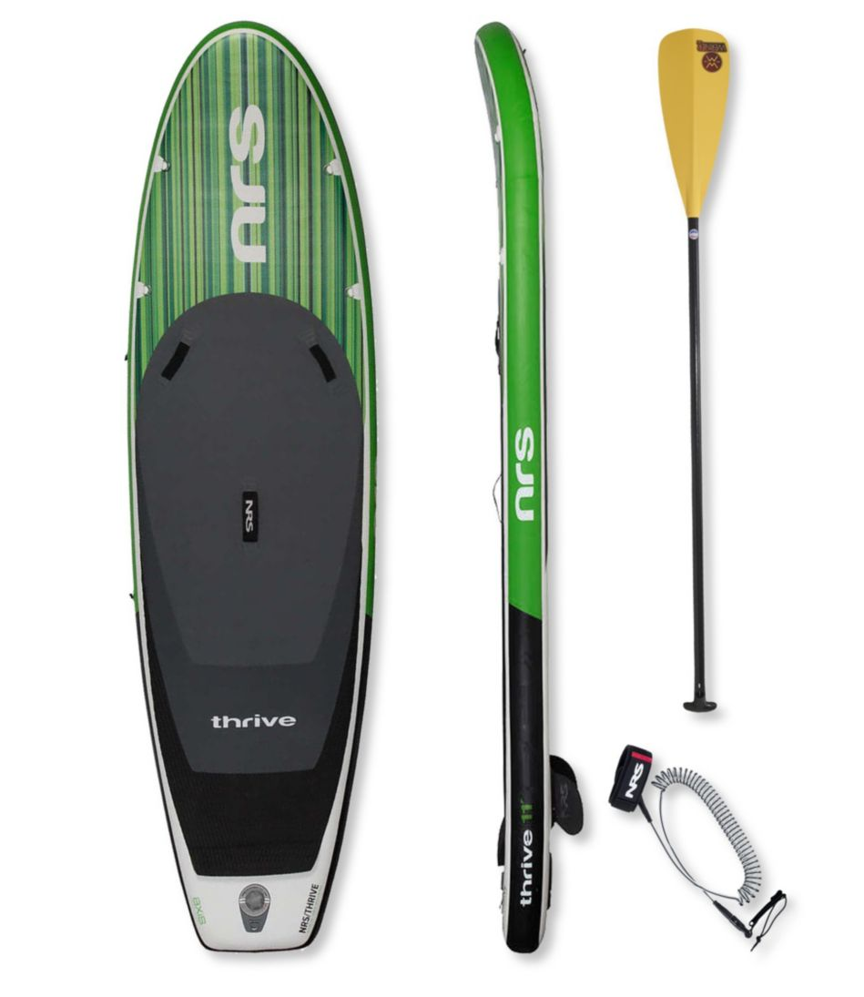 NRS Thrive Inflatable Stand-Up Paddleboard Package, 11'