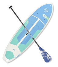 BIC ACE-TEC Performer Cross Fit Stand-Up Paddleboard Package, 10'