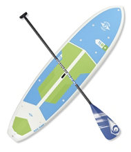BIC ACE-TEC Performer Cross Adventure Stand-Up Paddleboard Package, 11'