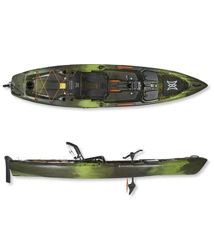 Perception pescador pilot pedal drive fishing kayak for Pedal drive fishing kayak