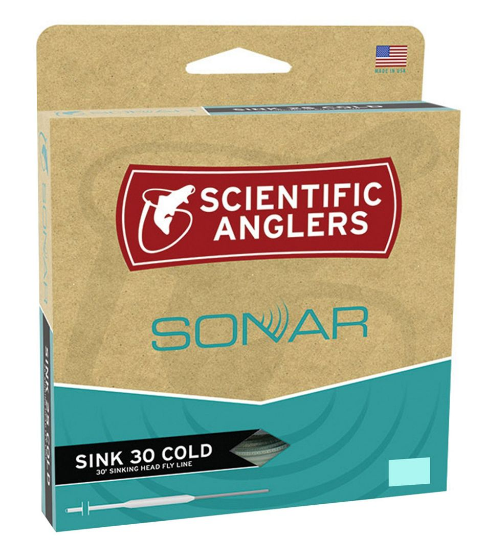 Scientific Anglers Sonar Sink 30 Fly Line, Cold Water