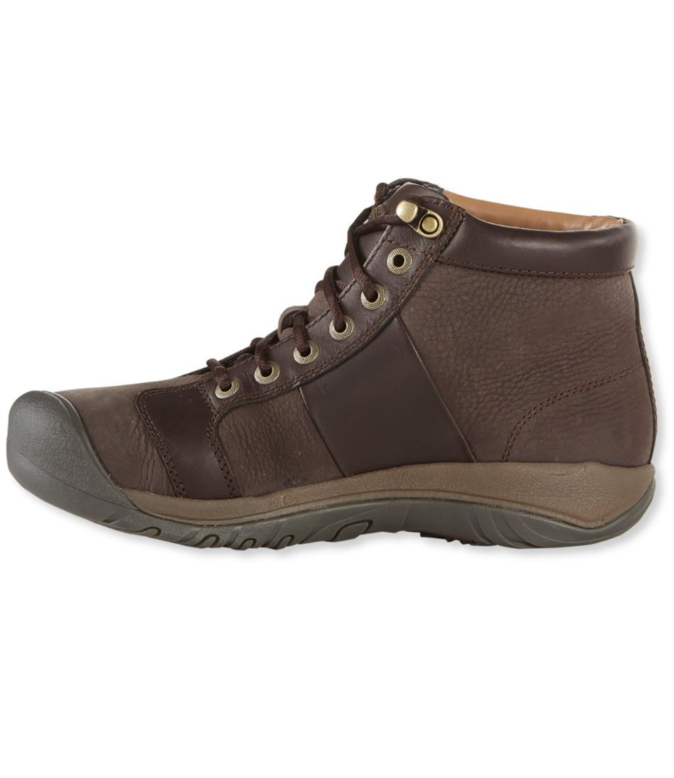 Men's Keen Austin Boots, Mid Lace-Up Waterproof