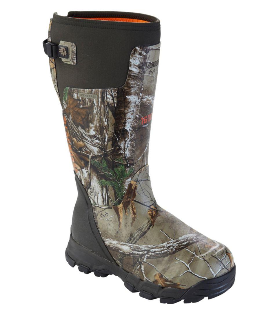 "Men's Lacrosse Insulated Alphaburly Pro Boots, 18"""