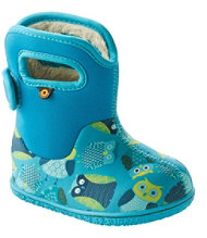 Toddlers' Baby Bogs Boots, Classic Owls
