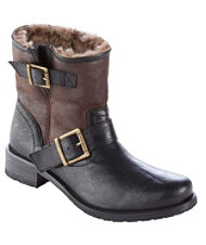Brenna Shearling-Lined Boots by Trask