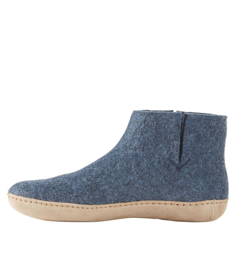 Adults' Glerups Wool Slipper Boots