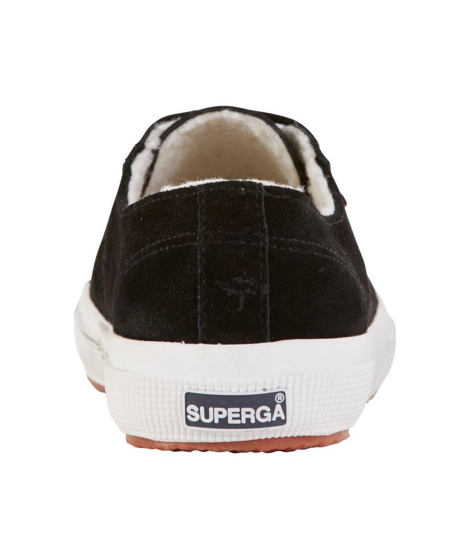 Women's Superga 2750 Sherpa-Lined Sneaker