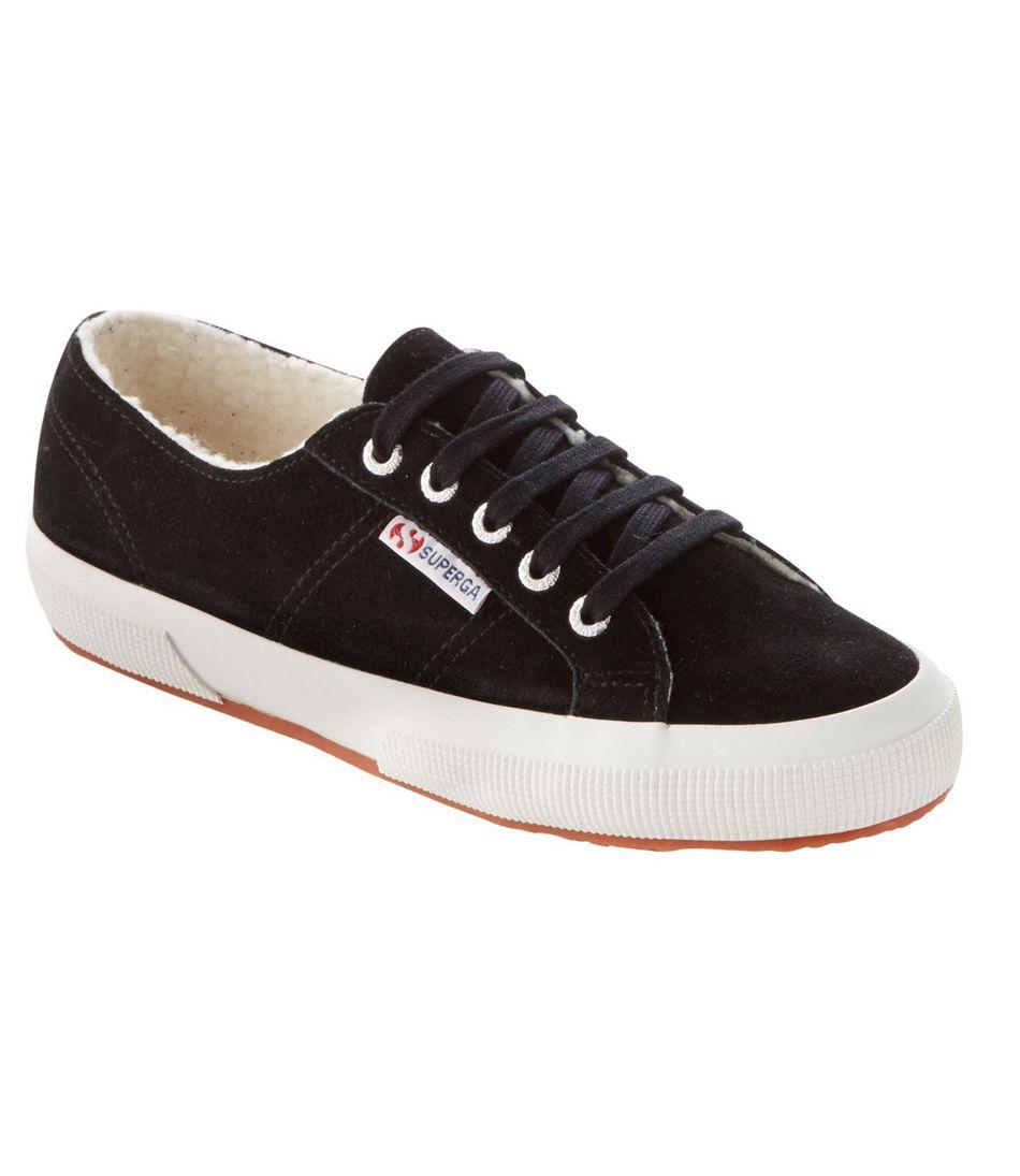 Superga 2750 Sherpa-Lined Sneaker