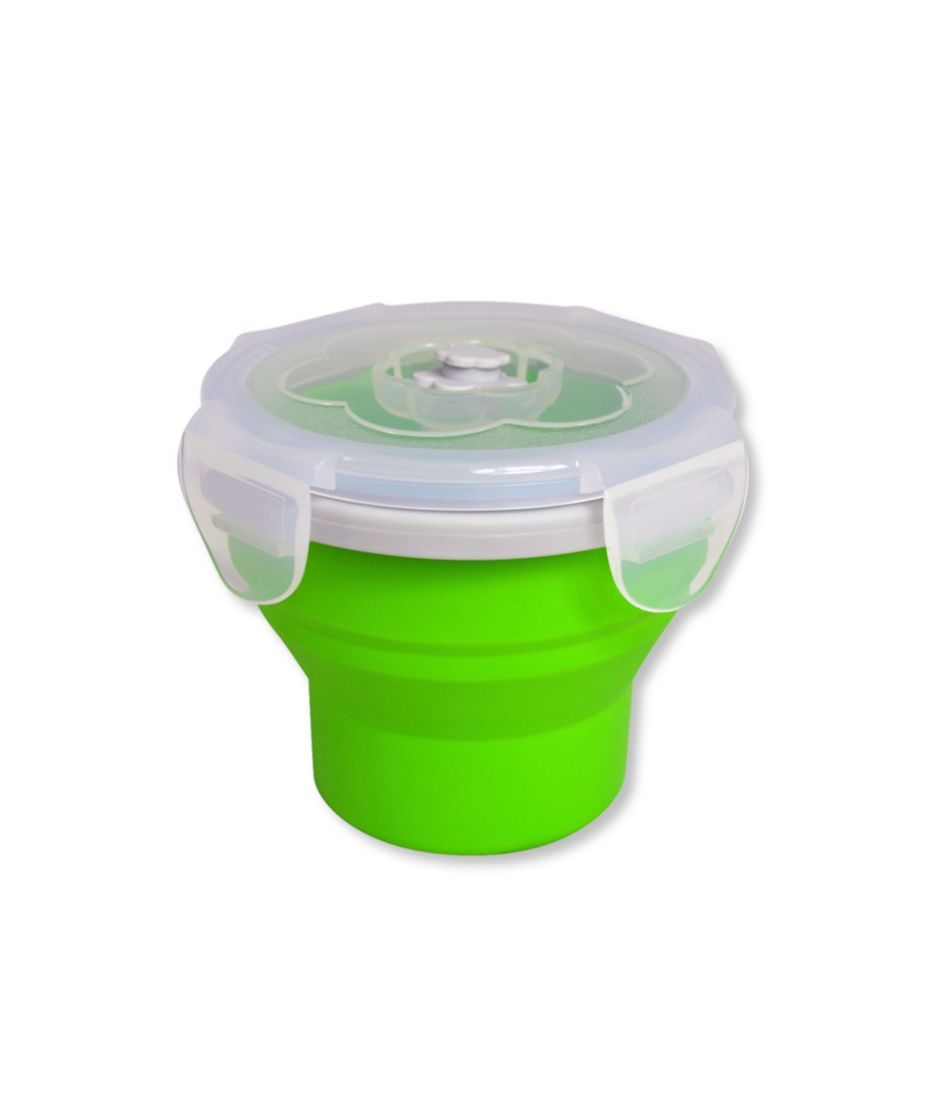Ecovessel Collapsible Snacker Food Container, 8 oz.