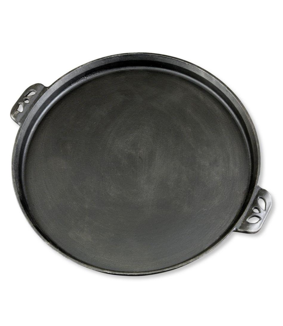 "Camp Chef Seasoned Cast Iron Pizza Pan, 14"""