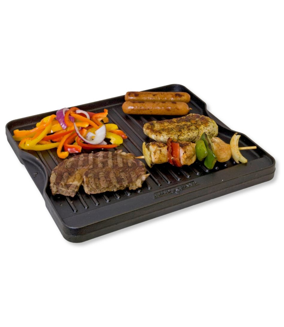 Camp Chef Seasoned Cast Iron Reversible Grill & Griddle