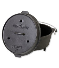 Camp Chef Seasoned Cast Iron Deluxe Dutch Oven