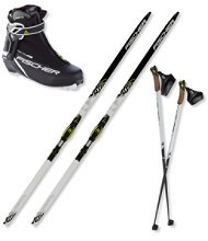 Fischer SC Classic IFP Ski Set with RC5 Combi Boot