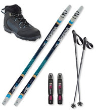 Rossignol BC 65 Ski Set with BC X2 Boots