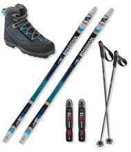 Rossignol BC 65 Ski Set with Rossignol BC X4 FW Boots