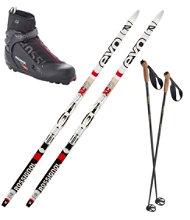 Rossignol EVO XC 50 Ski Set with X5 Boots