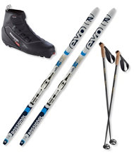 Rossignol EVO XC 60 Ski Set with X2 Boots