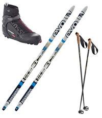 Rossignol EVO XC 60 IFP Ski Set with X5 Boots