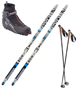 Rossignol EVO XC 60 Ski Set with Women's X5 FW Boot