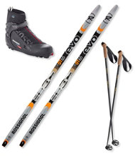 Rossignol EVO OT 65 Ski Set with X5 Boots