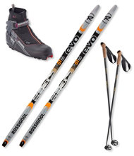 Rossignol EVO OT 65 Ski Set with Women's X5 FW Boots