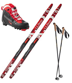 Kids' Discovery Positrack IFP Ski Set with X1 Boot