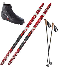 Kids' Discovery Positrack IFP Ski Set with X2 Boot