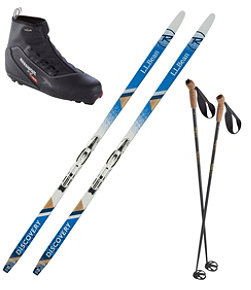 Adults' Discovery Positrck IFP Ski Set with X2 Boot